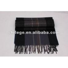 Cachemira / lenços de lã de homem / silenciadores