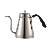 Tetera de café de goteo de acero inoxidable 1000ml