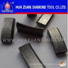 Segment de peu de noyau de diamant de rendement élevé pour renforcer le béton