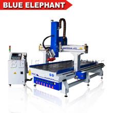Alta velocidade máquina de escultura em madeira cnc 3d, de alta qualidade atc rotary fuso router cnc para madeira e metal