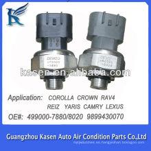 Interruptor de presión del aire acondicionado para TOYOTA COROLLA CROWN RAV4 RENZ YARIS CAMRY LEXUS 4990007880 4990008020 9899430070
