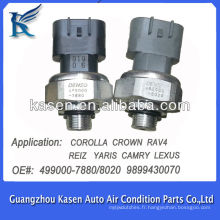 Pressostat de climatisation pour TOYOTA COROLLA CROWN RAV4 RENZ YARIS CAMRY LEXUS 4990007880 4990008020 9899430070
