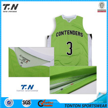 2016 New Custom Sublimation Reversible Basketball Uniforms