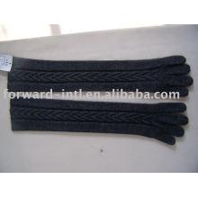 estilo dama cachemir o lana guantes de tejer 7gg