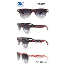 2015 Promotional PC Colourful Beautiful New Sunglasses for Children (PS560)