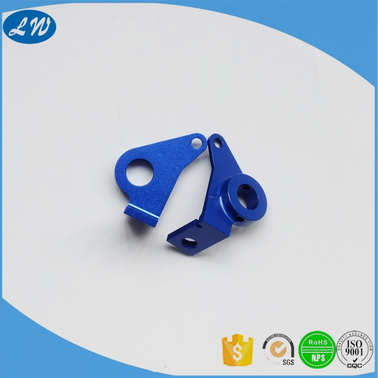 Precision Aluminum Blue Anodized Parts