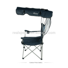 Canopy folding camping chair portable beach chair with sunshade/outdoor chair with canopy