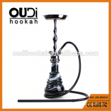 Glass bottle hookah luxury silicone hose zinc alloy shisha amy