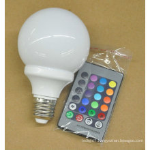 China Table RGB LED Bulb 3W e27 62*110MM