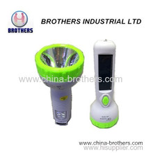 Plastic Solar LED Torch with Low Price