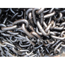 Studless Anchor Chain, U1, U2, U3 Grade, Open Link Chain, Marine Chain, Fishing Chain, Long Link Chain