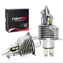 Brightest LED Headlight Bulb Fighter Series H4 30V 6000K All-in One Model LED Headlight