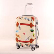 Cartoon Mirror PC Sacoche universelle pour bagages pour roues Boite à enfiler pour enfant 20 pouces 24 pouces Valises valises pour étudiants