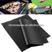 Precio barato no pegajoso fácil de limpiar PTFE barbacoa Grill Mat