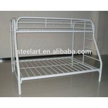 derniers lits superposés en fer blanc en métal pour la conception des enfants