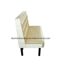 Factory Price Beige Color Single Booth Sofa