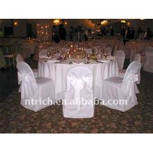 Couverture de chaise de banquet standard, housse de fauteuil pas cher CT125