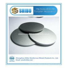 Fornecimento direto da fábrica de alta pureza 99,95% de disco de molibdênio com melhor qualidade