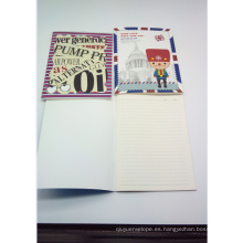 Libros de escritura escolar con grapas de encuadernación-Togo Printing