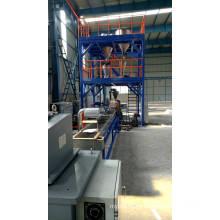 Extrusora de tornillo simple co-amasadora para plásticos de ingeniería