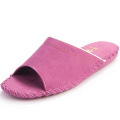 Women Slippers Portable Travel Slippers Pansy Room Wear