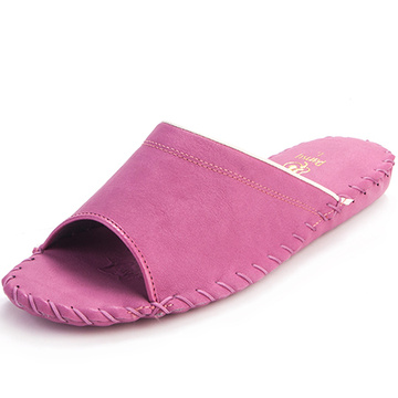 Women Indoor Slippers Simple Travel Slippers Pansy Room Wear