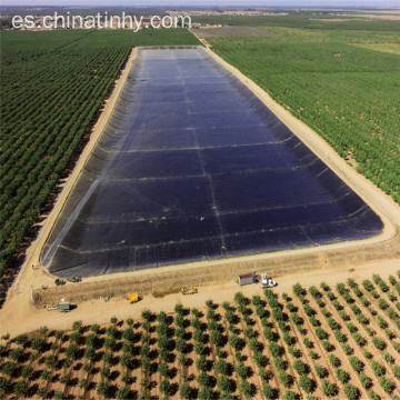 Fish Farm Pond Liner Hdpe Geomembrana con UV