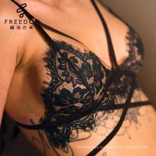 девушка сексуальный образ катрины ХХХ фото бюстгальтер набор зеленый кружева bralette с черным проводов кружевной комплект нижнего белья