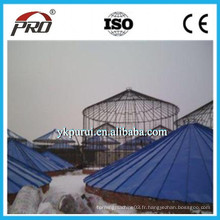 Machine à silos en acier galvanisé / Machine à formage de rouleaux de silo à grains en acier