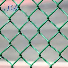 Barato negro recubierto 50x50mm Chain Link Fence