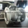 Válvula de esfera, extremidades de flange, ANSI / ASME