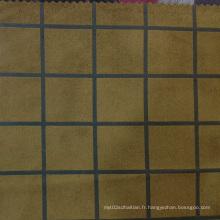 Tissus imprimés en soie imprimé Suedette 2016