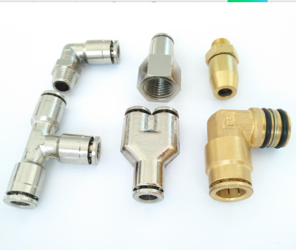 Air-Fluid D.O.T Push-to-Connect TEE Fittings
