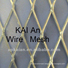 stamped and stretched lead panel/plate expanded diamond hole metal mesh