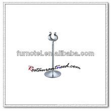 T223 Edelstahl Harfen Style Tischkartenhalter