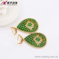 63647 Xuping Fashion 18K Charming CZ Gold LuxuryJewelry Set