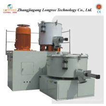 Unidade plástica do misturador do pó do PVC, unidade de mistura do turbocompressor do pó de WPC