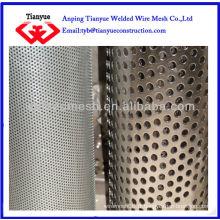 Rouleaux de feuilles de métal perforés galvanisés