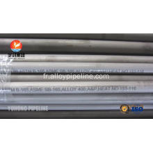 SB163 / SB165 / SB829 Monel alliage 400 sans soudure en alliage de nickel Tuyau UNS N04400