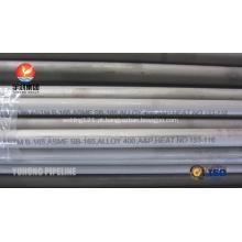 SB163 / SB165 / SB829 Monel liga 400 tubulação de liga de níquel sem costura UNS N04400