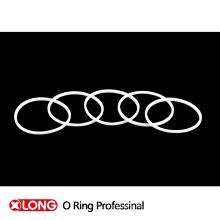 FDA Maschinenanwendung Silikonkautschuk O Ring Dichtung