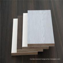 17mm walnut teak color melamine laminated plywood