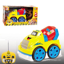 4 Channel Cartoon Plastic Model Toy R/C Car with Flashing Light & Music (10214049)