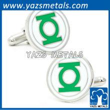 Green lantern comic cufflinks, customize cufflinks