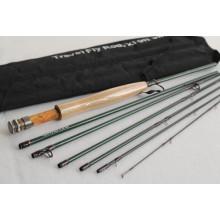 Stocked Travel Fly Fishing Rod