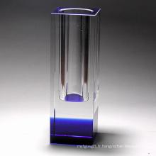 Vase à fleurs en cristal (JD-HP-023)