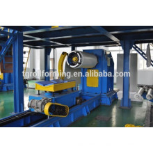 advanced new type 5 ton hydraulic decoiler