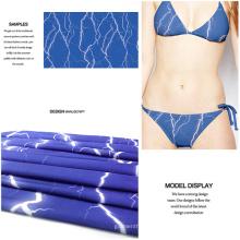 Polyester Spandex Digital bedruckten Stoff für Bademode und Jersey Kleid