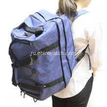 Multifunction Wheeled Foldable Duffle Bag and Backpack