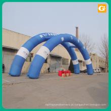 Arco inflável feito sob encomenda barato de venda quente, arco inflável da linha de chegada